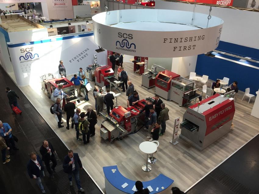 La tecnologia Made in Italy SCS sul palcoscenico mondiale di Drupa.