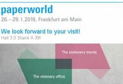 PAPERWORLD FRANKFURT from  January 26 to  January 29